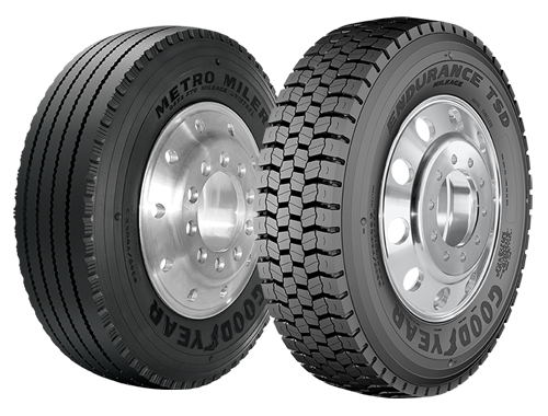 Bus Tires For Lease Or Purchase And More | Goodyear® Mileage Program